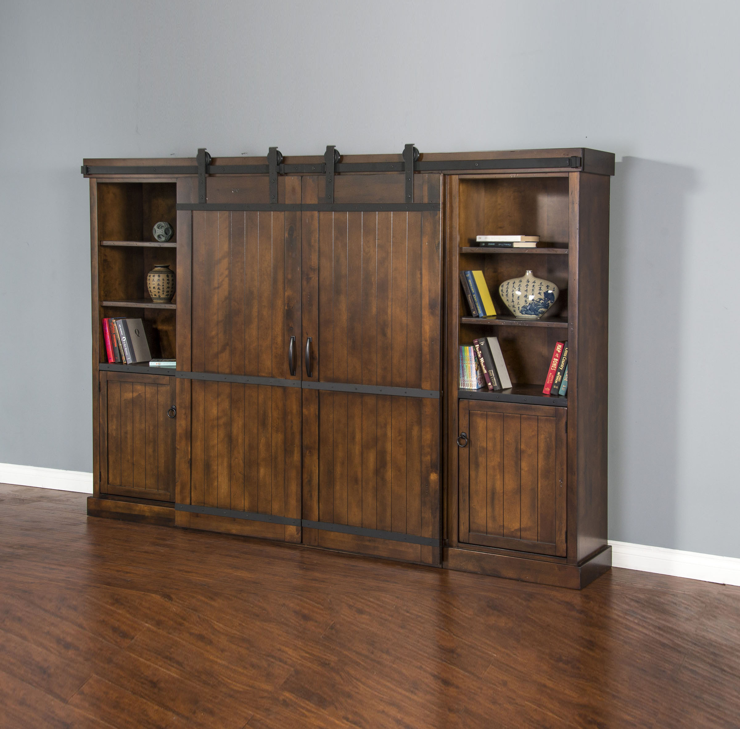 Library Tv Console Set 33 Image Furniture